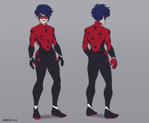 Adult Ladybug design by MegS-ILS