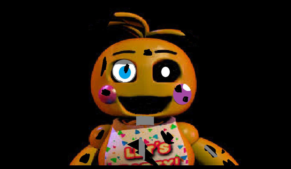Withered toy chica by sanicguy on deviantart