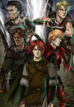 Kvothe and the Mercenaries