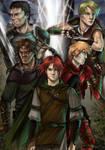 Kvothe and the Mercenaries