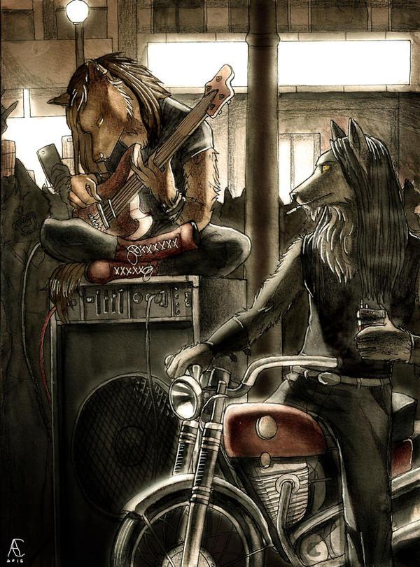 Fantasy Creatures In Modern Worlds - Werewolves by Celtilia