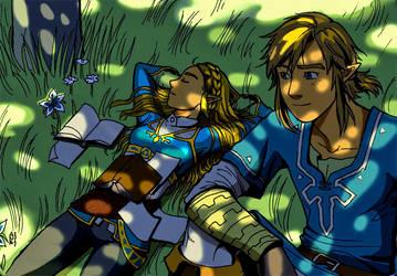 Lost memories 1. Zelda's nap by Celtilia