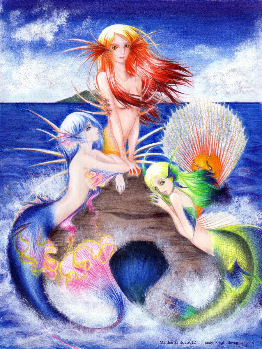 Mermaids by maidenknight
