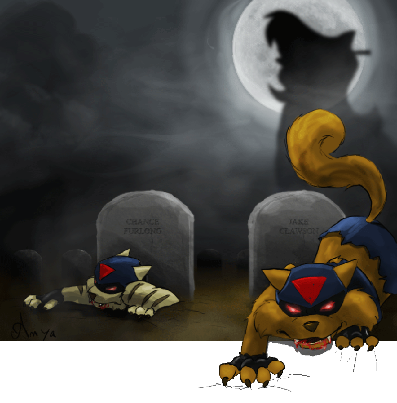 Fear the undead Swat Kats by anya1916