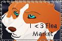I support Flea Market by BlackTailwolf