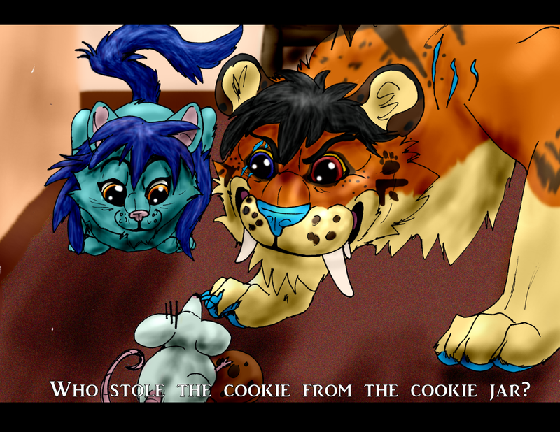 Who Stole the Cookie? by BlackTailwolf