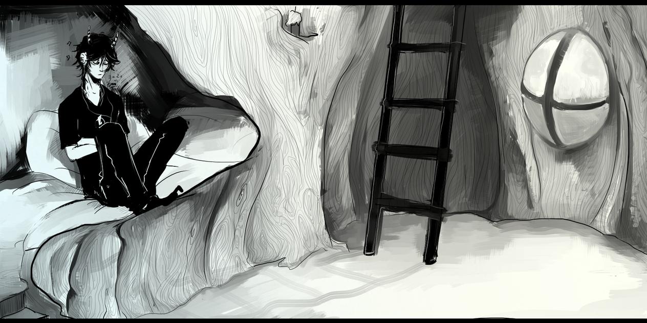 lu: oboz, zad1,  Rion w drzewie by caria0