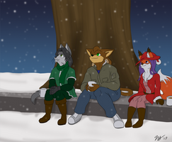 Snowfall Gathering