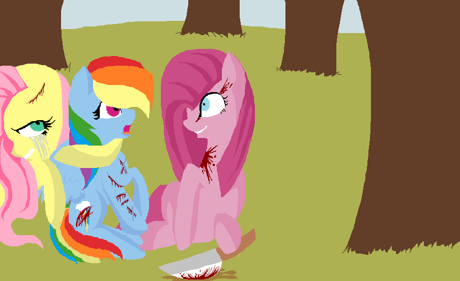 Rainbow dash and fluttershy dying by CloudChasingCats on ...