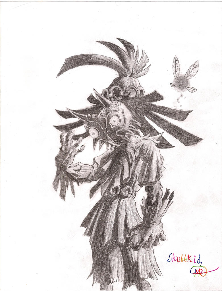 Skull Kid and Tael by matthna