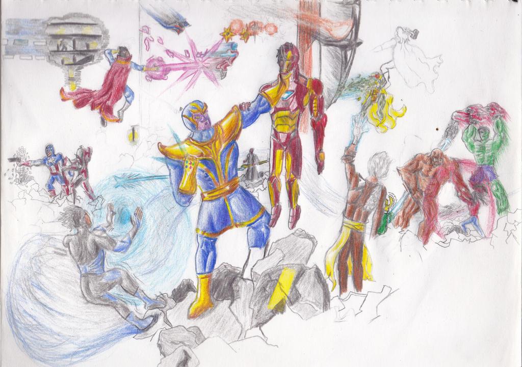 The Avengers' Greatest Threats by matthna
