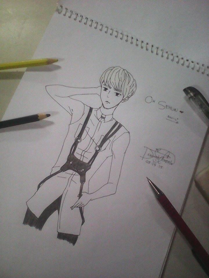 Oh Sehun (Exo-K) by dhebiiee-chan
