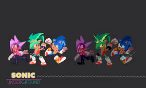 SONIC UNDERGROUND | CHARACTER REDESIGN 04