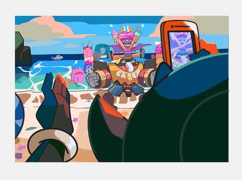 TEAM DARK | Beach Icecream