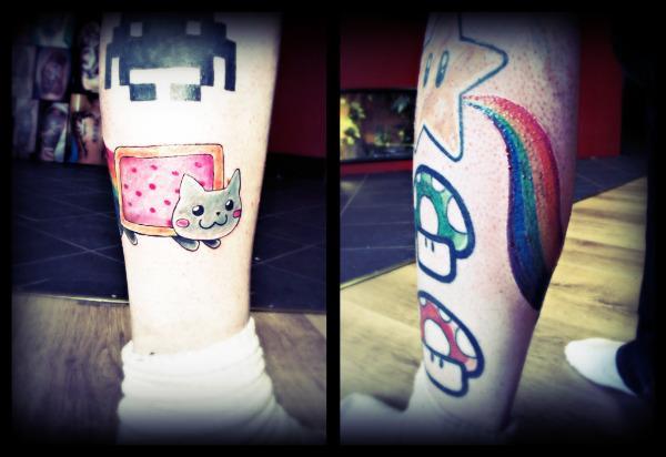 Nyan Cat Tattoo Nyan Cat Tattoo by