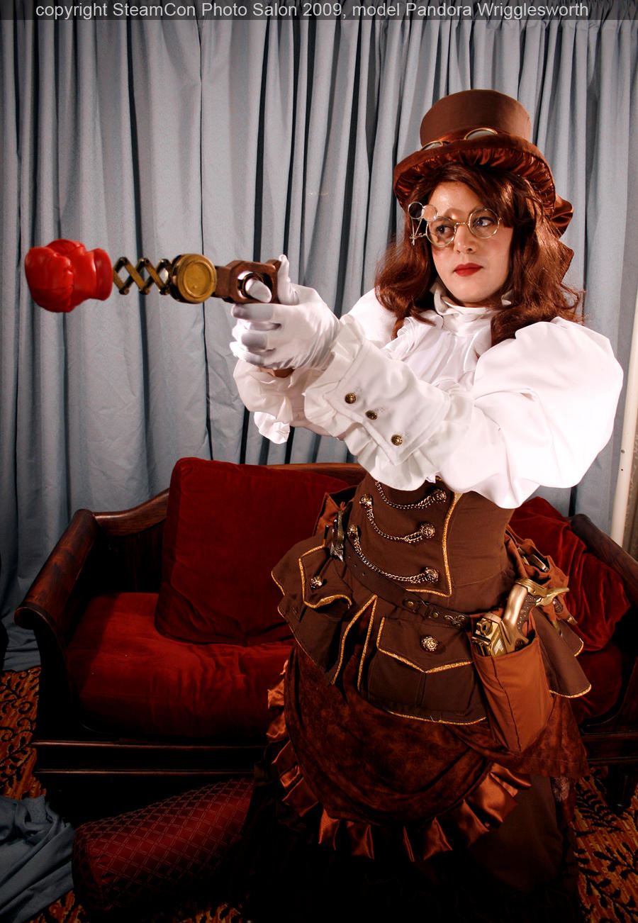 Steampunk Inventor Outfit 2 by DovSherman