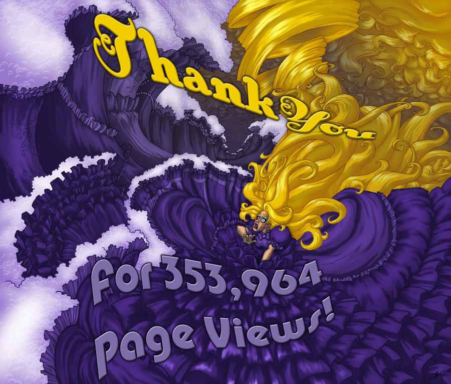 Thank You for 353,964 Views by DovSherman