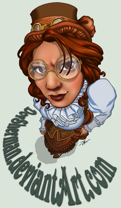 Steampunk Fisheye ID by DovSherman