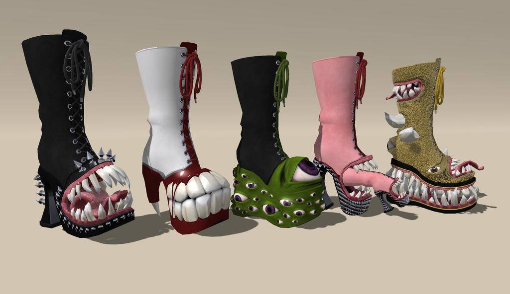Abomination Boots by DovSherman