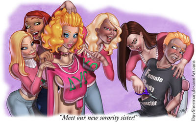 'Meet our new sorority sister!' by DovSherman
