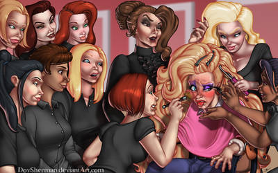 Beauty School Practice Model by DovSherman
