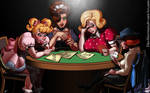 Sissies Playing Poker