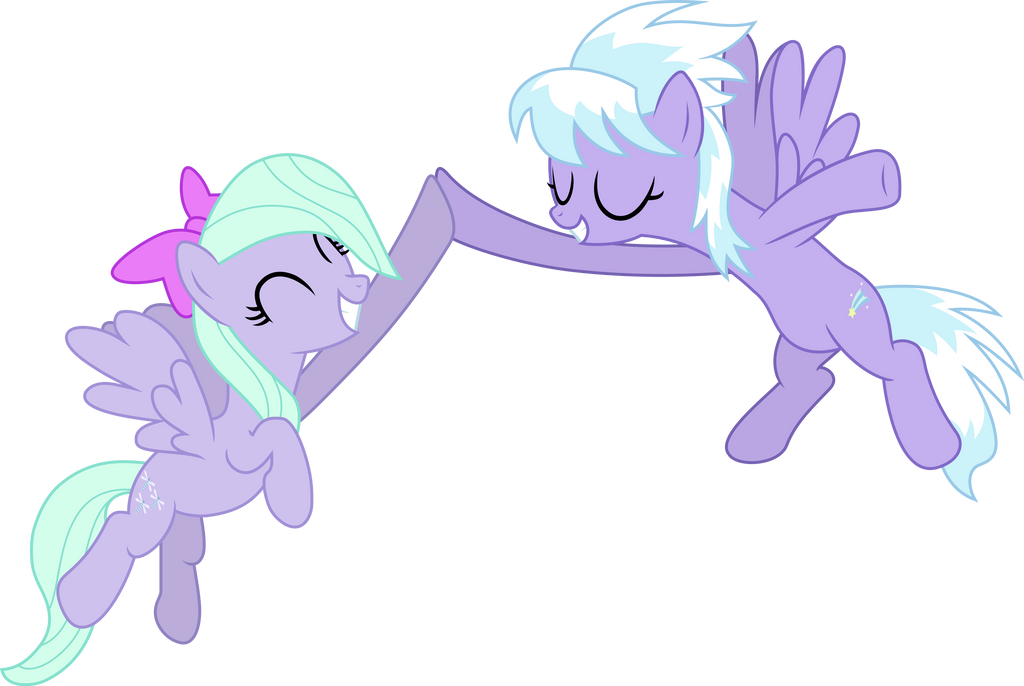 High-hoof, Cloudchaser! by Fukaketsu