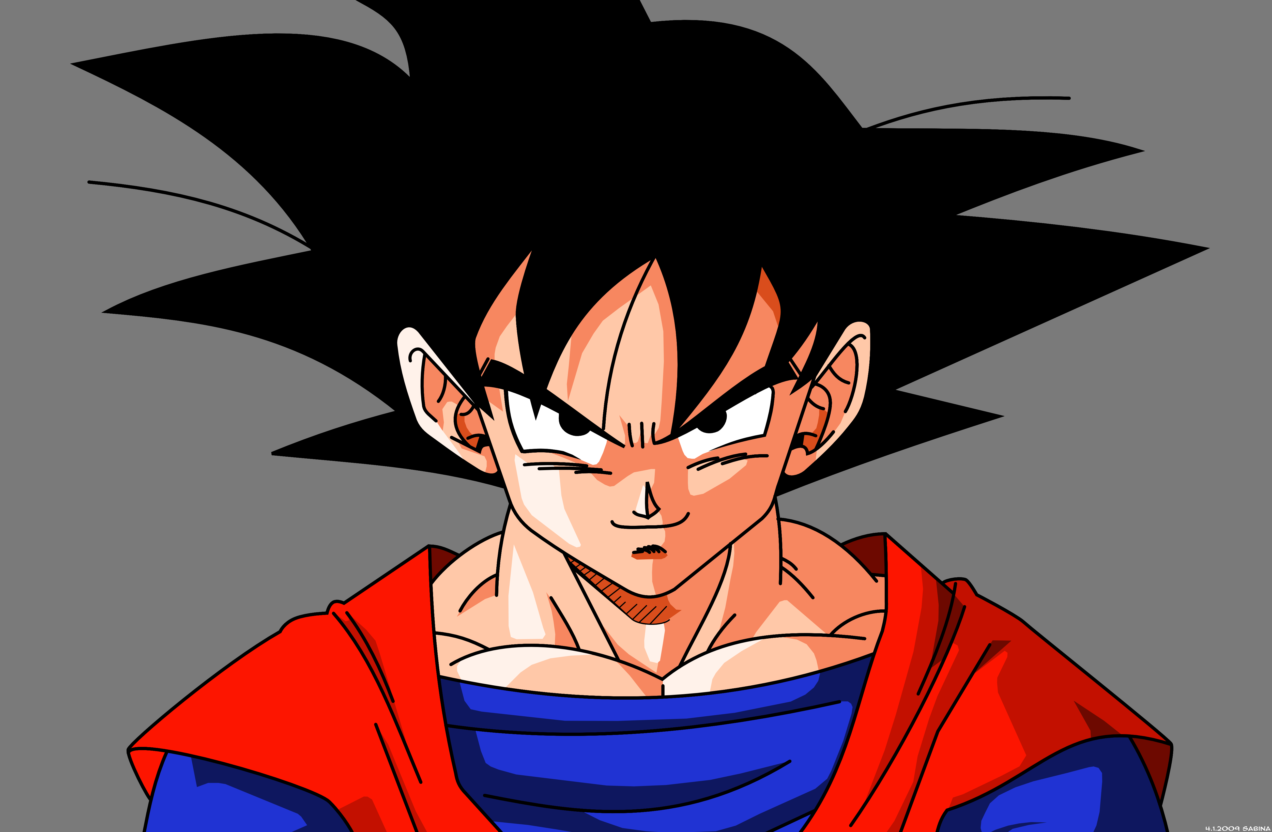 goku by dragonballzcz on deviantart