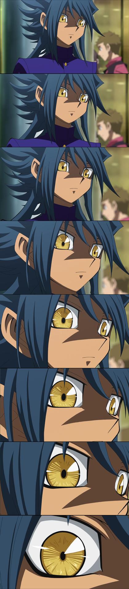 Aigami eye ! by dragonballzCZ