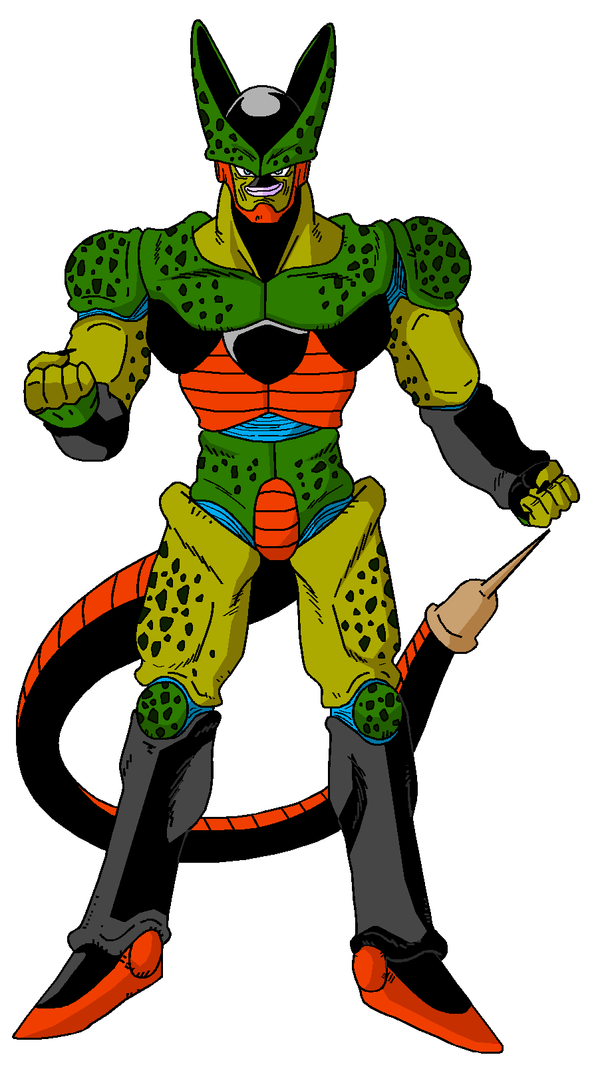imperfect cell by dragonballzCZ on DeviantArt