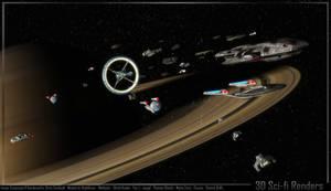 BSG Fleet escort