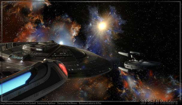 Enterprise and Stargazer