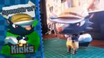 Animal Crossing New Leaf Papercraft ~ Kicks ~ by SuperRetroBro