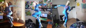 Super Smash Bros Papercraft ~ Zero Suit Samus ~