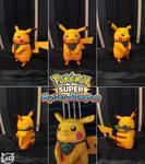 Pokemon Super Mystery Dungeon Papercraft ~ Pikachu