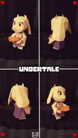 Undertale Papercraft ~ Chibi Toriel ~
