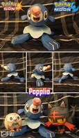 Pokemon Sun and Moon Papercraft ~ Popplio ~