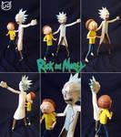 [Adult Swim] Papercraft ~ Rick and Morty