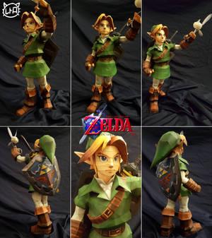 The Legend of Zelda Ocarina of Time: Link and Navi