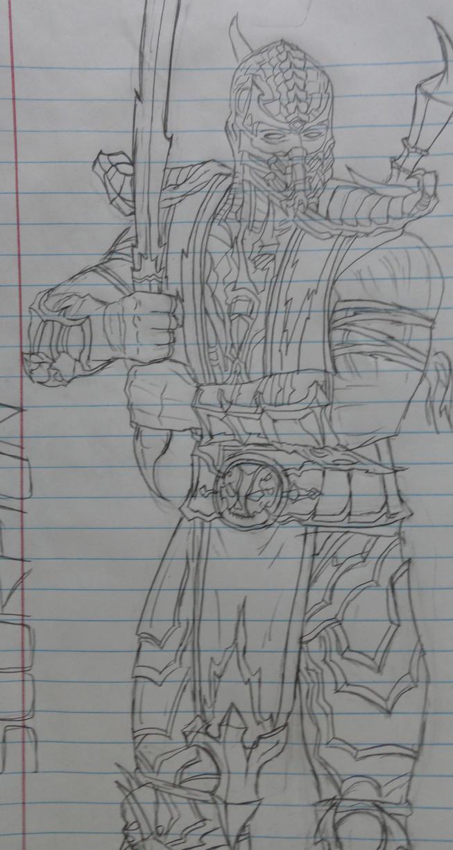Mortal Kombat 9 Scorpion by THN1105 on DeviantArt