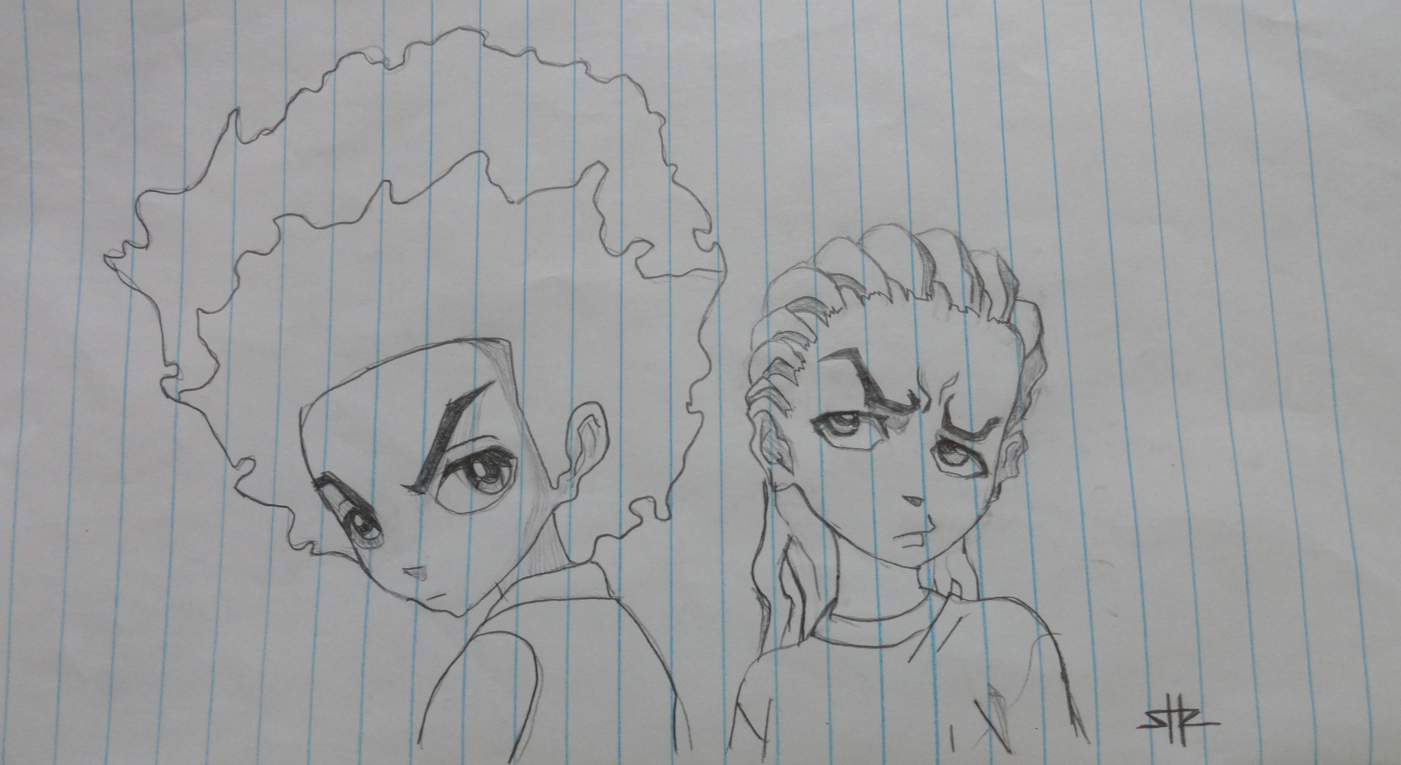 Huey And Riley Freeman By Thn1105 On Deviantart