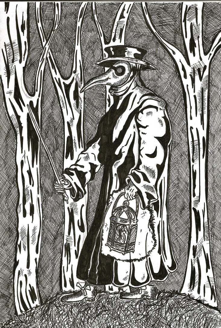 Plague Doctor by Malice-InWonderland