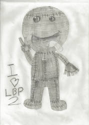 Sackboy loves LittleBig Planet 2!!