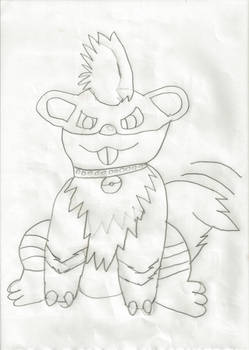 Growlithe Sketch