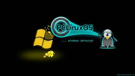 Pclinuxos ...windows derezzed by juhele