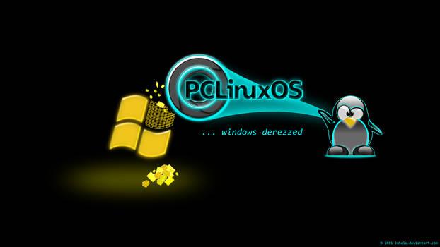 Pclinuxos ...windows derezzed