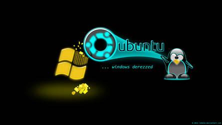 Ubuntu ...windows derezzed by juhele