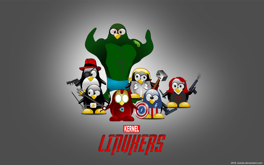 Linuxers simple wallpaper by juhele