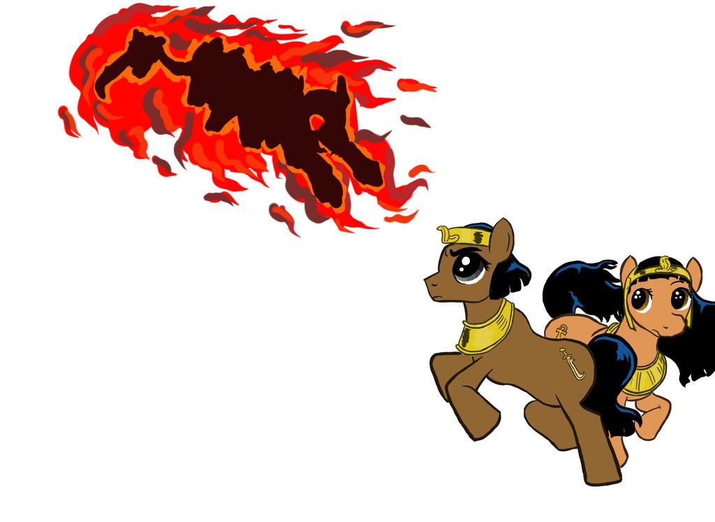 My little Papyrus Pony by Tchoucky