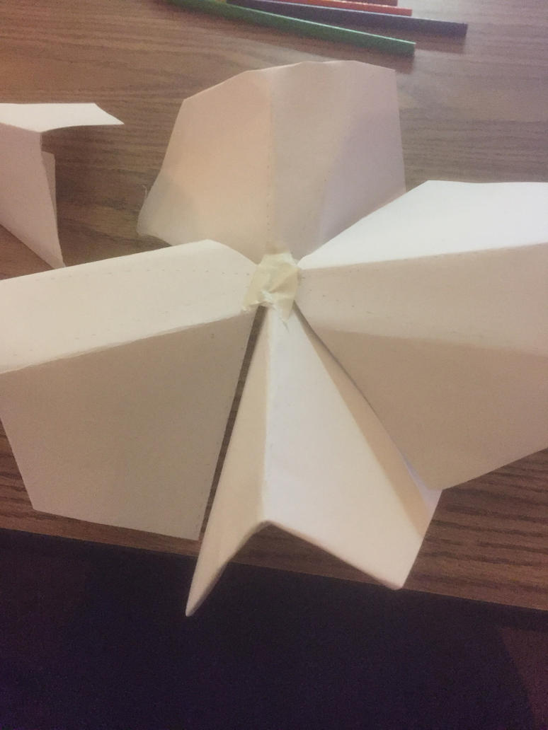 Attempt at a 3d star by f22phenix16 on deviantart for 3d star net